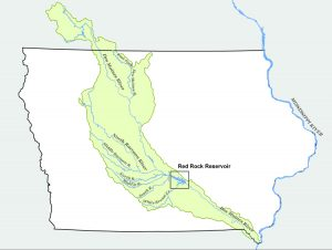 DSM river watershed
